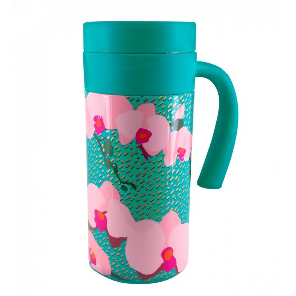 Pylones - Thermobecher Coffee-to-go Becher - Keep Cool Mug - Orchid Blue