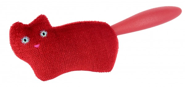 Pylones - Kleiderbürste - Katze - Pile Poil - Rot