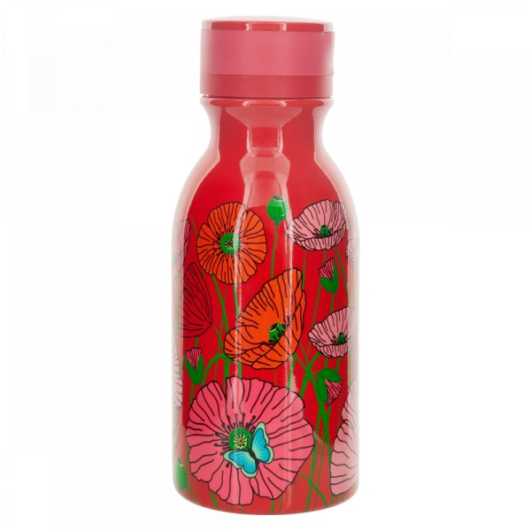 Pylones - Thermosflasche Thermoskanne - Mini Keep Cool Bottle 0,4 l - Coquelicots