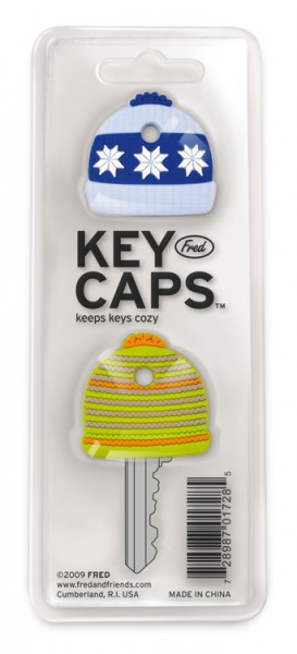 Invotis - Fred - Schlüsselüberzieher - Key Caps - 2er-Set - Mütz