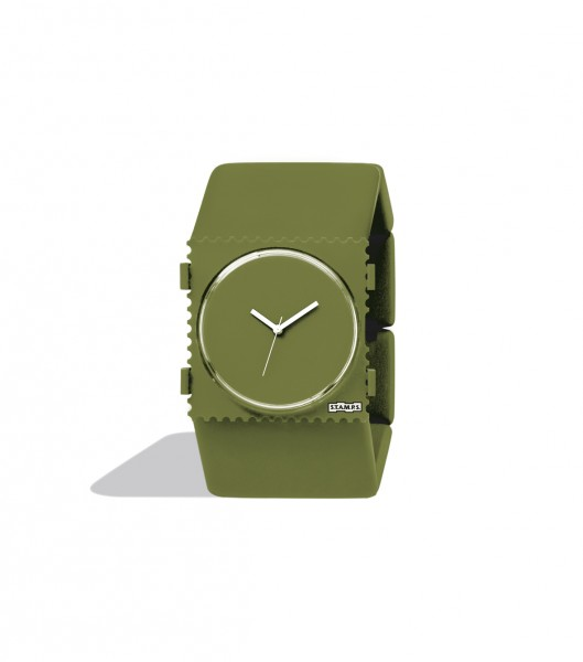 S.T.A.M.P.S. - Armband Belta Pure Dark Green - ohne Uhr - Stamps