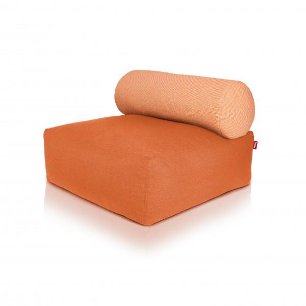 Fatboy - Sitzsessel Sofa Sitzhocker - Tsjonge - Orange mit Kissen Orange