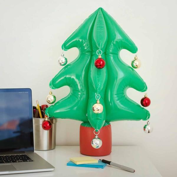 Aufblasbarer Weihnachtsbaum Tannenbaum mit Kugeln - Inflatable Christmas-Tree