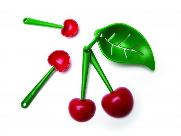 Ototo - Messlöffel inkl. Eiertrenner Kirsche - Mon Cherry