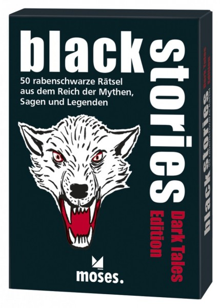 Moses Verlag - Black Stories Dark Tales - Mythen Sagen Legenden