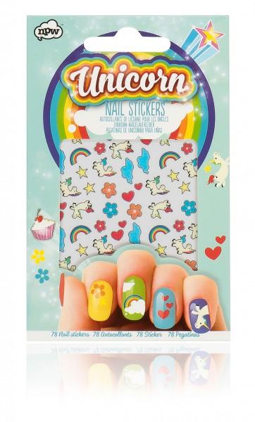 Nagelsticker Nageldekoration Einhorn - Unicorn Nail Sticker - 78 Sticker