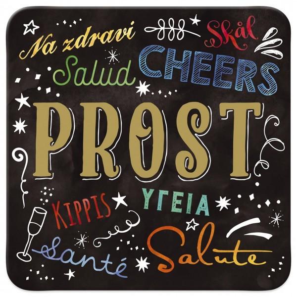 My Beautytree- Kork-Untersetzer - Prost Salud Cheers
