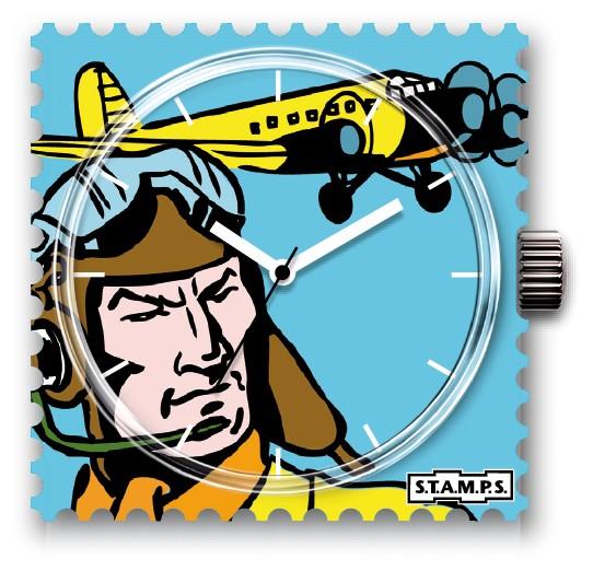 S.T.A.M.P.S. - Uhr Frogman - Pilot - Stamps Single Uhr - wasserd