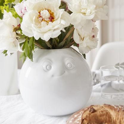 TV Tassen - Blumenvase mit Gesicht Porzellan - Amüsiert
