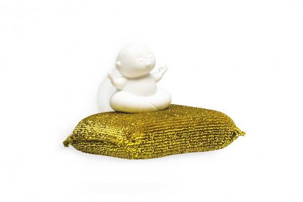 Peleg Design - Schwammhalter inkl. Spülschwamm Yoga - Yogi