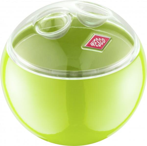 Wesco - Aufbewahrungsbehälter Vorratsdose Kugel - Mini Ball - limegreen grün
