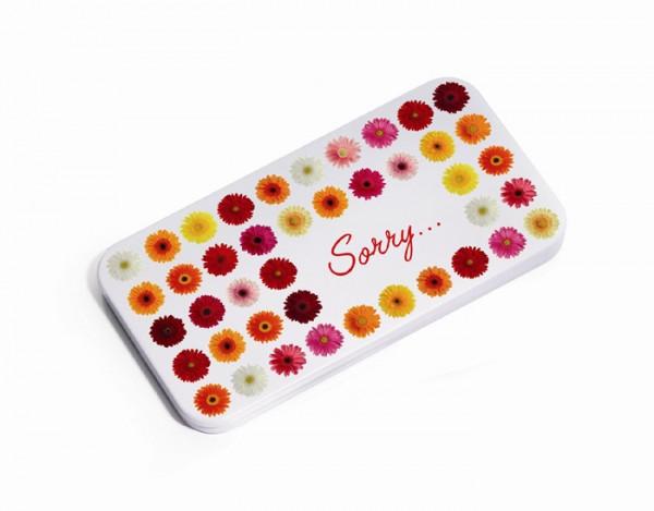 Troika - Schokobox - Geschenkbox für Schokolade - Sorry Box