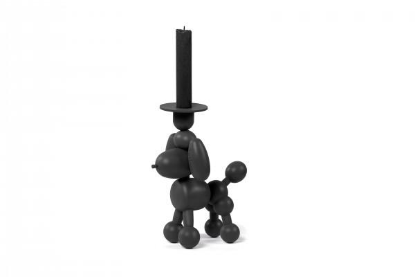 Fatboy - Kerzenhalter - Hund Luftballon-Tier Pudel - Can Dolly - anthrazit dunkelgrau