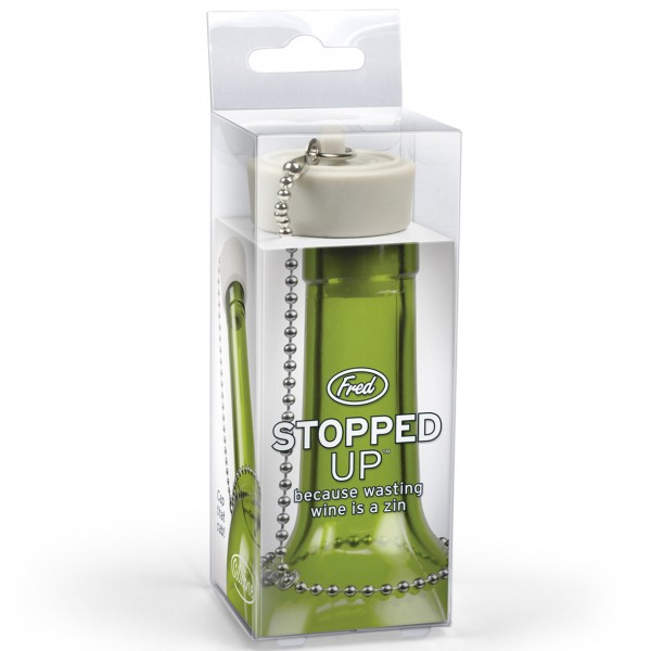 Invotis - Fred - Flaschenverschluss Stöpsel - Stopped Up
