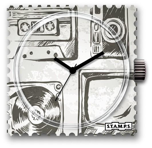 S.T.A.M.P.S. - Uhr Frogman - Retro Life - Stamps wasserdicht