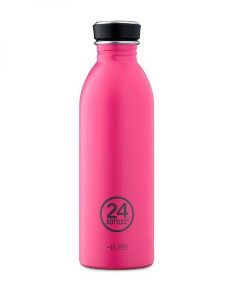 24bottles - Edelstahl-Trinkflasche 500ml - Passion pink