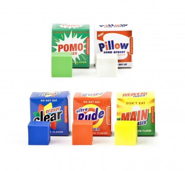Kikkerland - Radiergummi mit Geruchsaromen Waschmittel