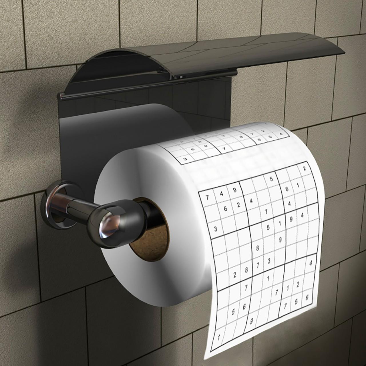 Toilettenpapier Klopapier Sudoku