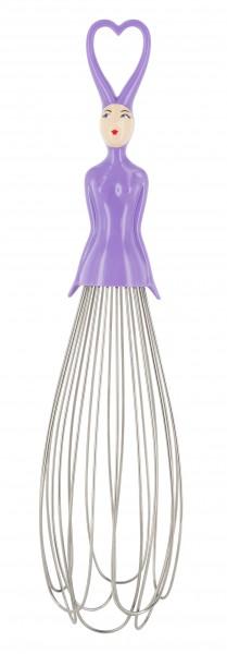 Pylones - Schneebesen Frau - Melusine - violett lila