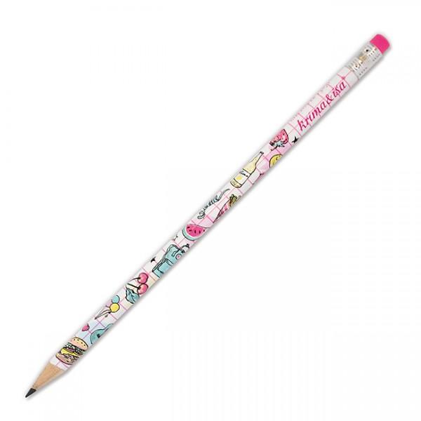 krima & isa - Bleistift mit Radiergummi - Girlpower