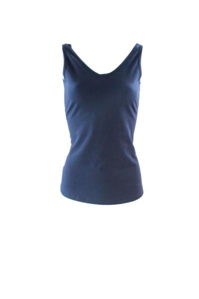 los angeles 0b7b6 b2c75 Zilch - Ärmelloses Shirt - Reversible Top - navy dunkelblau
