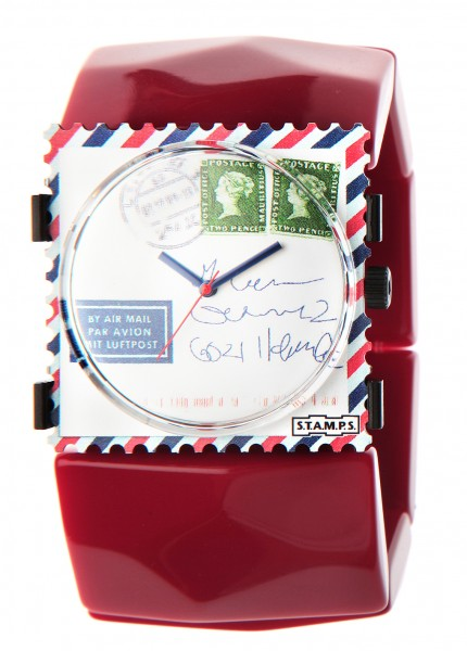 S.T.A.M.P.S. - Armband Belta Sculpture Red - ohne Uhr - Stamps