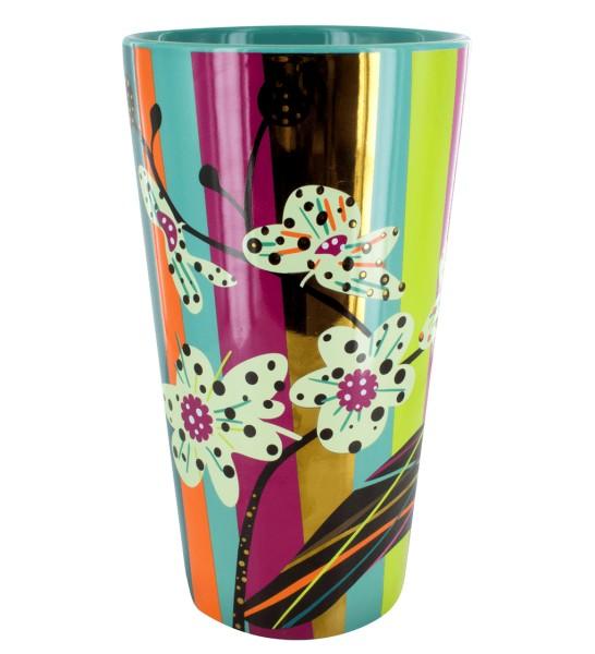 Pylones - Blumenvase rund Bouquet - Orchid