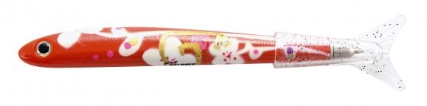 Pylones - Kugelschreiber - Fisch - Fish Pen Funny - White Flower