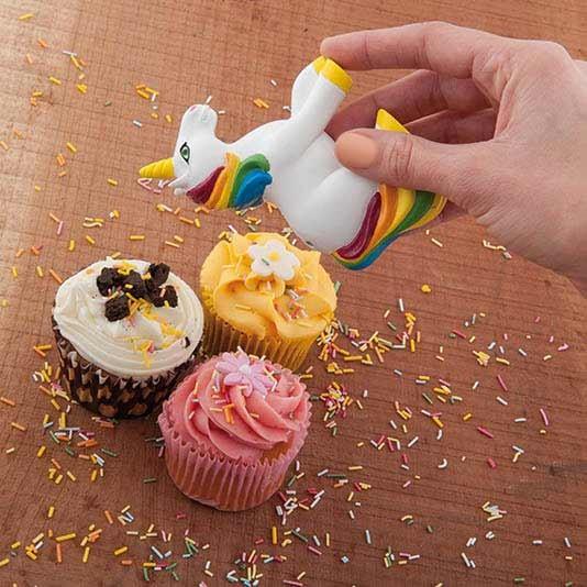 Zuckerstreusel-Streuer Einhorn - Sprinkles Shaker