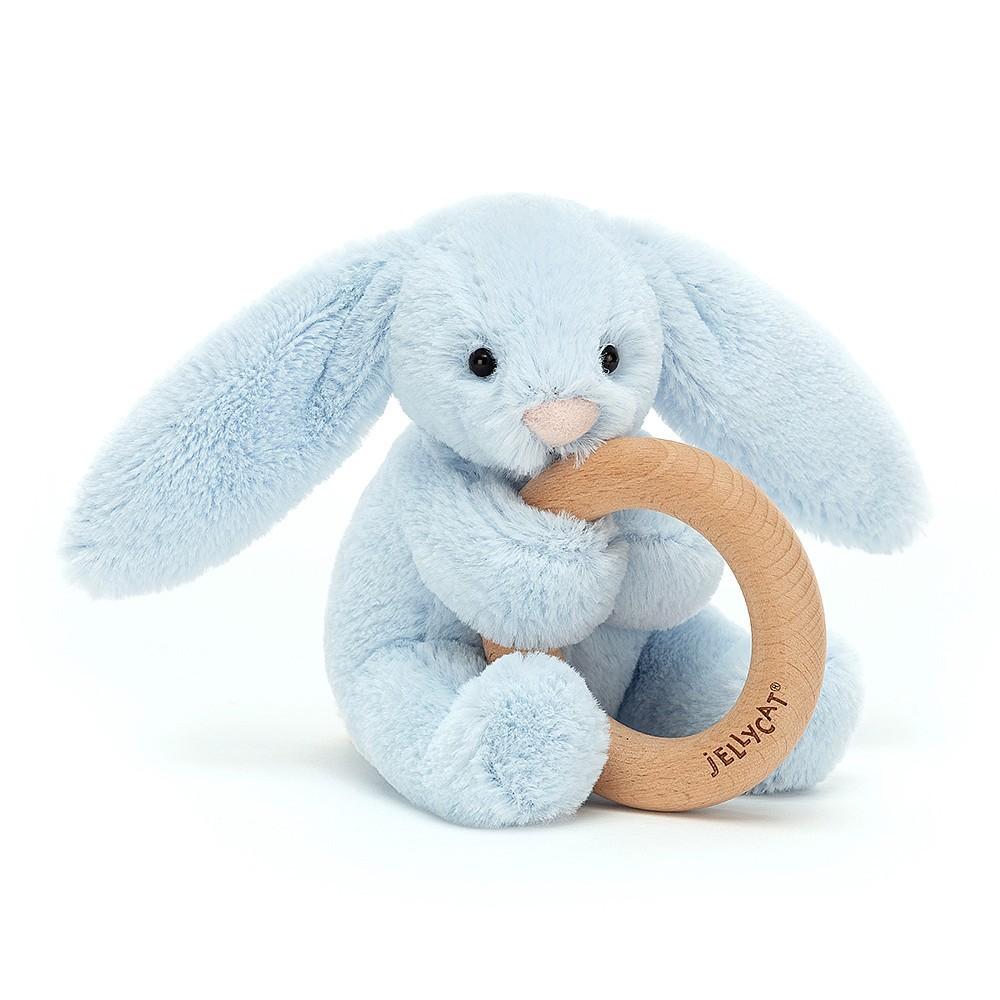 Ncbvixsw Baby Bunny Ohr Bei/ßring Holz Bei/ßring Neugeborene Sensorische Spielzeug Dusche Geschenk Sicheres Bei/ßspielzeug Holz Bei/ßring Praktische Baby-Krankenpflege Liefert Babyspielzeug