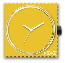 S.T.A.M.P.S. - Uhr - Pure Yellow - Stamps