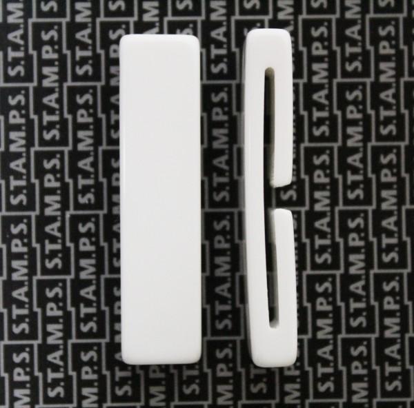 S.T.A.M.P.S. - Belta Add Kit - Einzelnes Vergrößerungs-Glied - weiss M 10mm