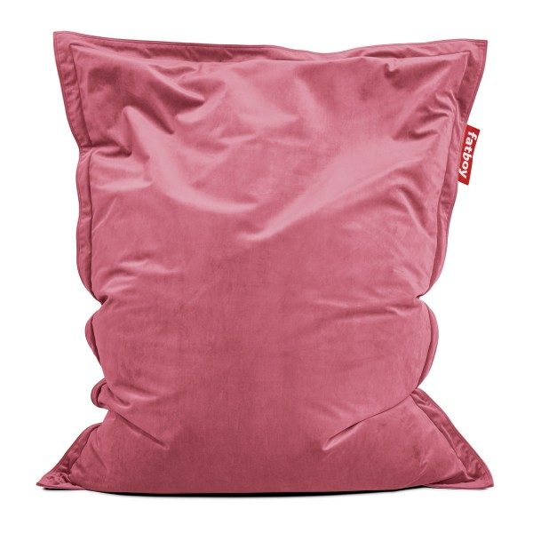 Fatboy - Sitzsack - The Original Slim Velvet - Deep Blush
