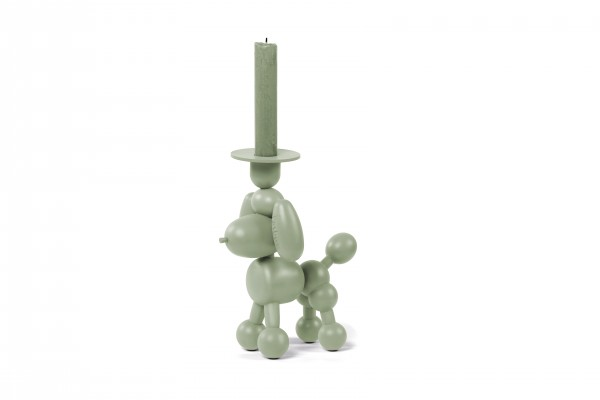 Fatboy - Kerzenhalter - Hund Luftballon-Tier Pudel - Can Dolly - envy green