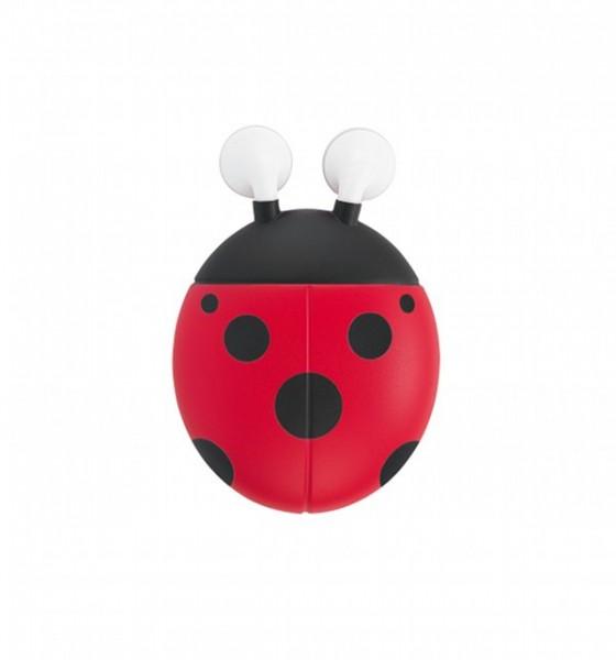 e-my - Ohrhörer mit Kabelaufwicklung Marienkäfer - Lady Bug