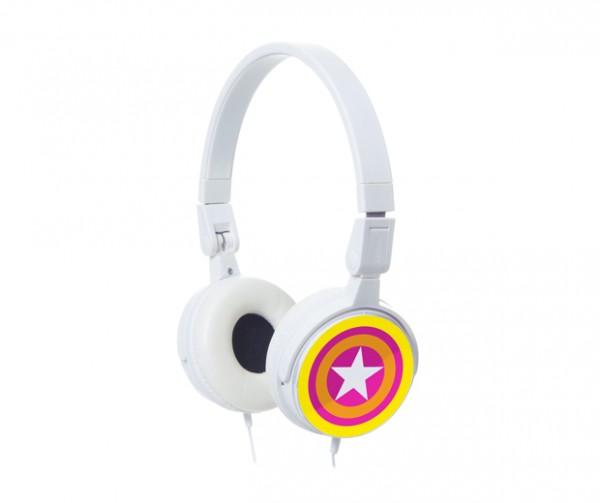 Silly - Kopfhörer Headphone Stars - gelb