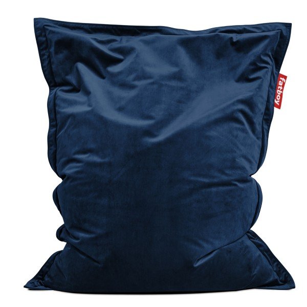 Fatboy - Sitzsack - The Original Slim Velvet - Dark Blue
