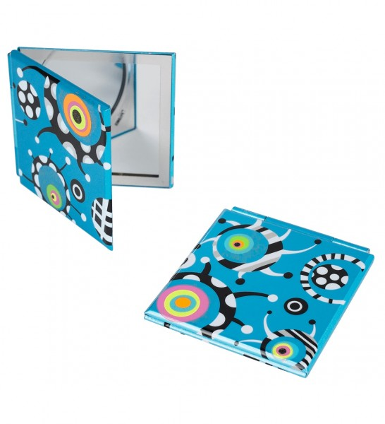 Pylones - Pocket Spiegel - Taschenspiegel - Mimi - Blue Satellite