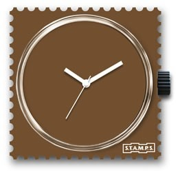 S.T.A.M.P.S. - Uhr - Pure Brown - Stamps