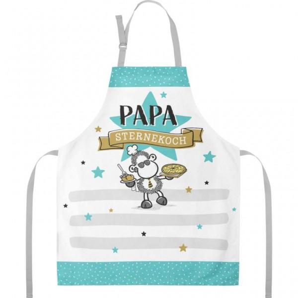 Sheepworld - Kochschürze Küchenschürze - Papa Sternekoch