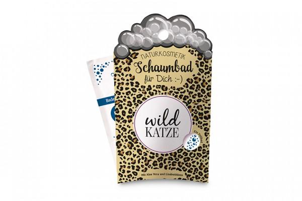 Schaumbad - Wildkatze - für ein Vollbad 40 ml