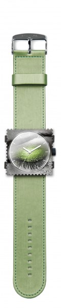 S.T.A.M.P.S. - Armband Satin Green - ohne Uhr - Stamps