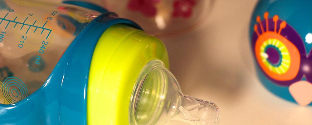 Pylones Babyflaschen aus Glas
