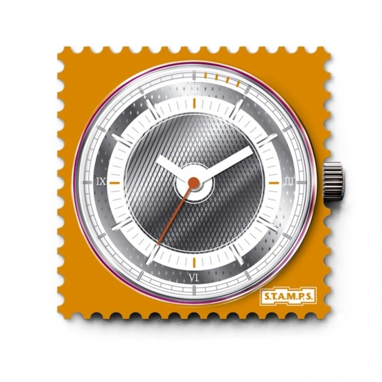 S.T.A.M.P.S. - Uhr Frogman - Orange Square - Stamps wasserdicht