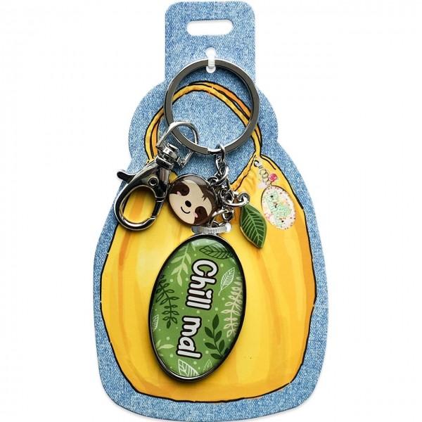 My Beautytree - Taschenanhänger Schlüsselanhänger - Chill Mal