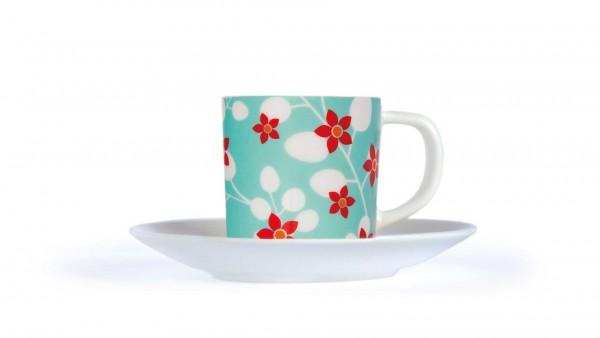 Remember - Espresso-Tasse mit Untertasse - Primavera