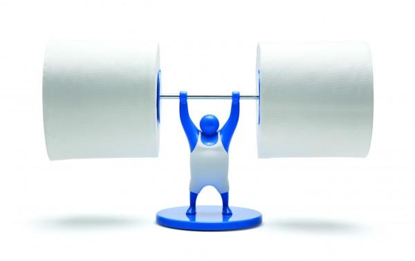 Monkey Business - Toilettenrollenhalter - Klopapierhalter ...