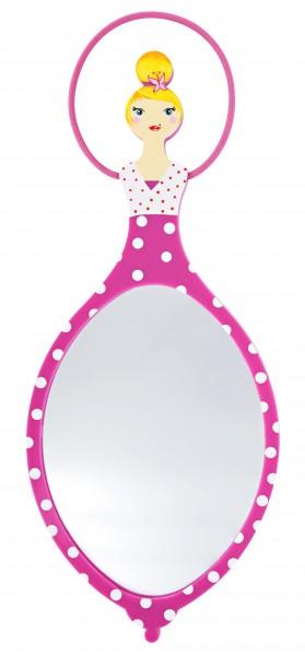 Pylones - Handspiegel - Kosmetikspiegel - Glam Glam - pink
