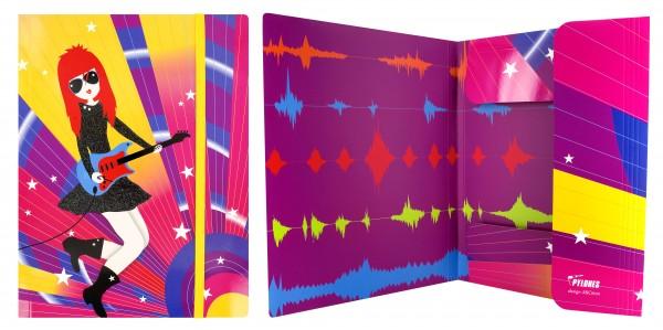 Pylones - Flügelmappe A4 - Schnellhefter - Akademic - Rock
