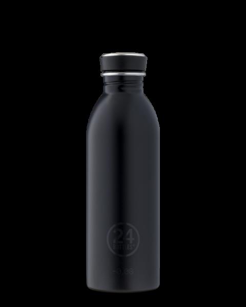 24bottles - Edelstahl-Trinkflasche 500ml - tuxedo black schwarz